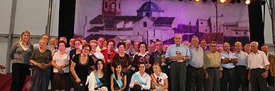 Especial Día de los Mayores en la Caseta Municipal con motivo de las Fiestas Patronales